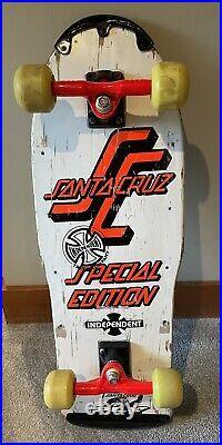 Vintage OG Santa Cruz Special Edition Complete Skateboard Grosso Roskopp Salba