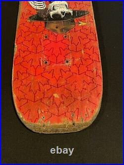 Vintage OG powell peralta Rare Pink Kevin Harris Skateboard Deck Rodney Mullen