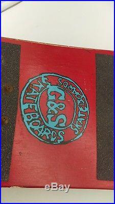 Vintage ORIGINAL G&S Neil Blender Coffee Break COMPLETE Skateboard AMAZING SHAPE