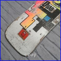 Vintage Original 1985 Town & Country Quad Skateboard Deck Skate Rare T&C Surf