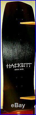 Vintage Original 1986 David Hackett Skull Skates Rare Street Sicle Skateboard