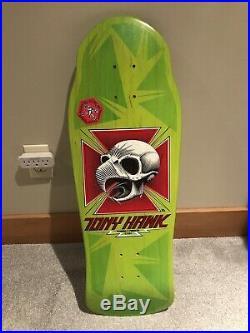 Vintage Original 1986 Powell Peralta Tony Hawk Skateboard Deck NOS