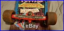 Vintage Original 80's Santa Monica Airlines Natas Kaupas Panther Skateboard