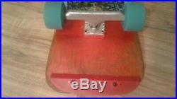 Vintage Original ALVA Eddie Reategui complete skateboard with G-Bones & Rangers