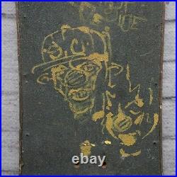 Vintage Original Santa Cruz Rob Roskopp Face Skateboard Deck Skate Graffiti