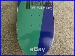 Vintage Plan B Matt Hensley Skateboard Dave Andrecht Collection