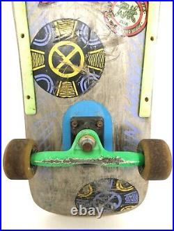 Vintage Powell Peralta 80s Skateboard with Gullwing Trucks Tony Hawk