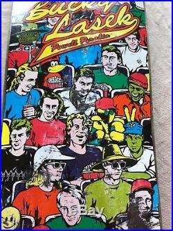Vintage Powell Peralta Bucky Lasek All Stars Skateboard Deck 90s Rare