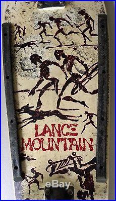 Vintage Powell Peralta Lance Mountain Future Primitive Mini Complete Skateboard