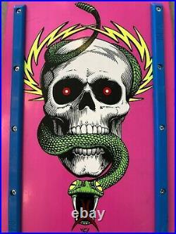 Vintage Powell Peralta Mike McGill 2006 Reissue Pink Skateboard Deck