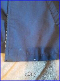 Vintage Powell Peralta Ripper Jacket work Bones rare Tony Hawk Blue Large