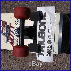Vintage Powell Peralta Rodney Mullen Mutt Independent Bones Freestyle skateboard