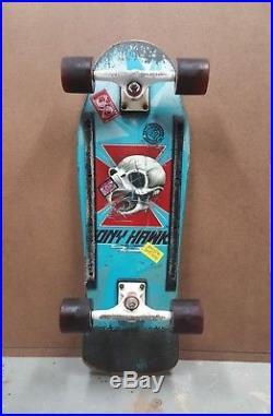 Vintage Powell Peralta Skateboard Chicken Hawk Skull Tony Hawk 1983 Original