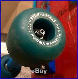 Vintage Powell Peralta Skull & Sword Skateboard STREET BONES WHEELS NOS Trackers