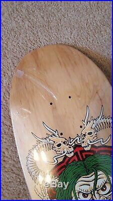 Vintage Powell Peralta Steve Caballero Mask skateboard deck New in shrink