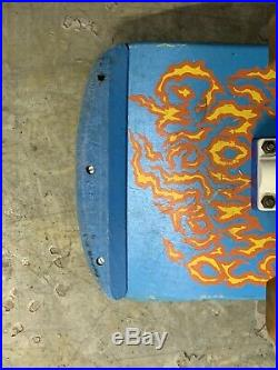 Vintage Powell Peralta Tommy Guerrero Flaming Dagger Complete Skateboard