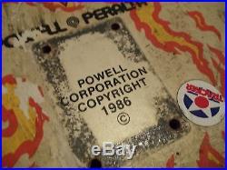Vintage Powell Peralta Tommy Guerrero Flaming Dagger Skateboard