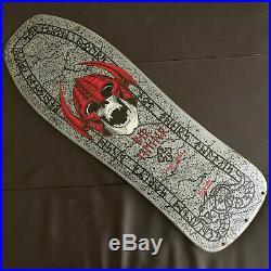 Vintage Powell Peralta skateboard Per Welinder Nordic Skull Street XT1987 Bonite