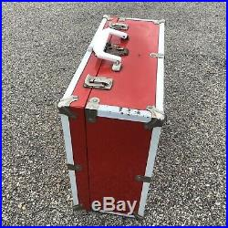 Vintage Powell Roller Bones Skate Case Box 1980 Derby Peralta Brigade OG 80s RED