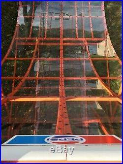 Vintage Rad Ramp skateboard half pipe. Pepsi ramp 1978. SIMS ALVA DOGTOWN