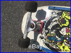 Vintage Rob Roskopp Target IV 4 Skateboard Santa Cruz Tracker OJ FREE SHIPPING