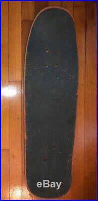 Vintage SANTA MONICA AIRLINES skateboard deck SMA Alva Natas EVER-SLICK Rare