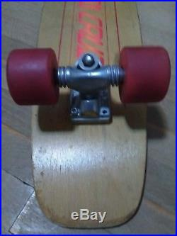 Vintage Santa Cruz 5 Ply rocker Skateboard