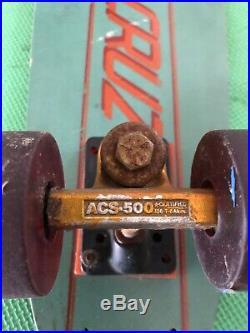 Vintage Santa Cruz Fiberglass Skateboard