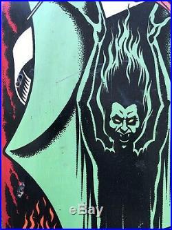 Vintage Santa Cruz Jeff Grosso Demon skateboard Powell Peralta Anti hero sma