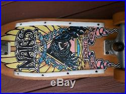 Vintage Santa Cruz Skateboard Natas Kaupas 80s complete Selling as a collectible