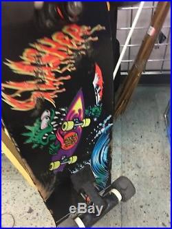 Vintage Santa Cruz Slasher Meek Model Skateboard Skate Deck Board OG Old School