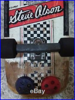 Vintage Santa Cruz Steve olson skateboard 1981