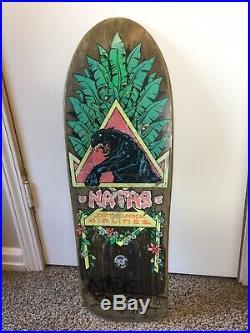 Vintage Santa Monica Airlines Natas Kaupas deck Santa Cruz skateboards Sma