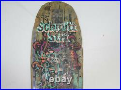 Vintage Schmitt Stix John Lucero X2 Skateboard