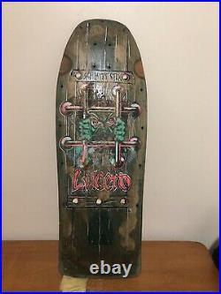 Vintage Schmitt Stix skateboard John Lucero X1