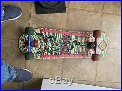 Vintage Sims Jeff Phillips Skateboard Tracker Kryptonics Read Description