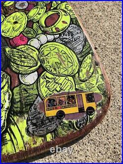 Vintage Sims Kevin Staab Pirate Skateboard Deck Original