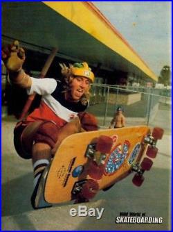 Vintage Sims Lonnie Toft Outrageous 8, Eight Wheeled Skateboard