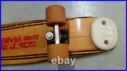 Vintage Sims Pure Juice Complete Skateboard YOYO Wheels ACS500 Trucks Skid Plate