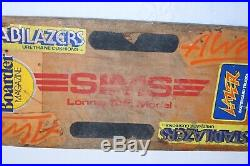Vintage Sims Skate Board Lonnie Toft Model with Independent Trucks