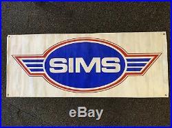 Vintage Sims Skateboard Banner
