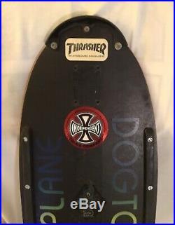 Vintage Skateboard 1979 Dogtown Skates Jim Muir Design Triplane
