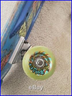 Vintage Skateboard Santa Cruz Rob Roskopp Target 29 Independent Bullet