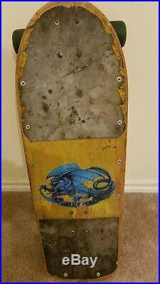 Vintage Steve Caballero Skateboard Complete Deck Powell Peralta