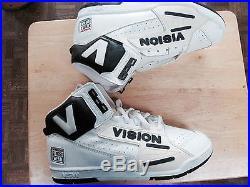 Vintage Super Cool Rare Vision Skateboard Shoes Size 10 Mens