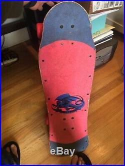Vintage TONY HAWK POWELL PERALTA Original 1983 Chicken Skull Skateboard MINI
