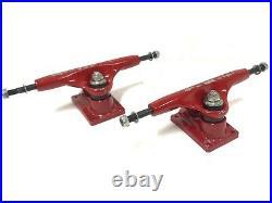 Vintage Tracker 1st GEN Sixtrack Ultralight RED Skateboard Trucks Powell Peralta
