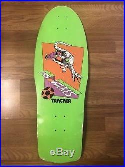 Vintage Tracker Dan Wilkes Raptor NOS Skateboard Deck 1985 OG GSD Art