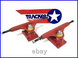 Vintage Tracker Sixtrack Ultralight RED 9 Skateboard Trucks NEW Powell Peralta