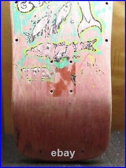 Vintage Vision Color My Friends In Gonz Mark Gonzalez Skateboard Deck